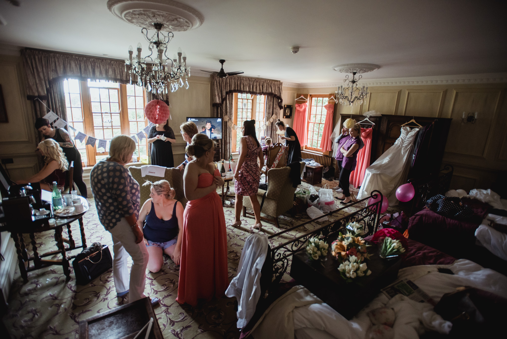 chris & emily's Lainston house wedding photography