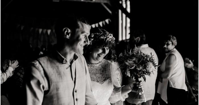 Combe Manor Barn wedding previews - Lou & John