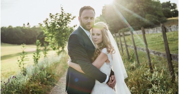 Heron's farm wedding previews: Bonnie & Jack