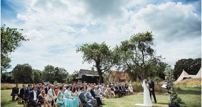 Natasha & Jack's New Forest Wedding