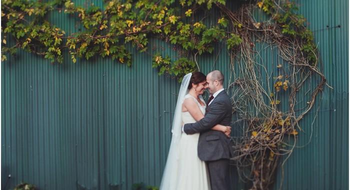 Heather & Matt's Autumn Clock Barn wedding