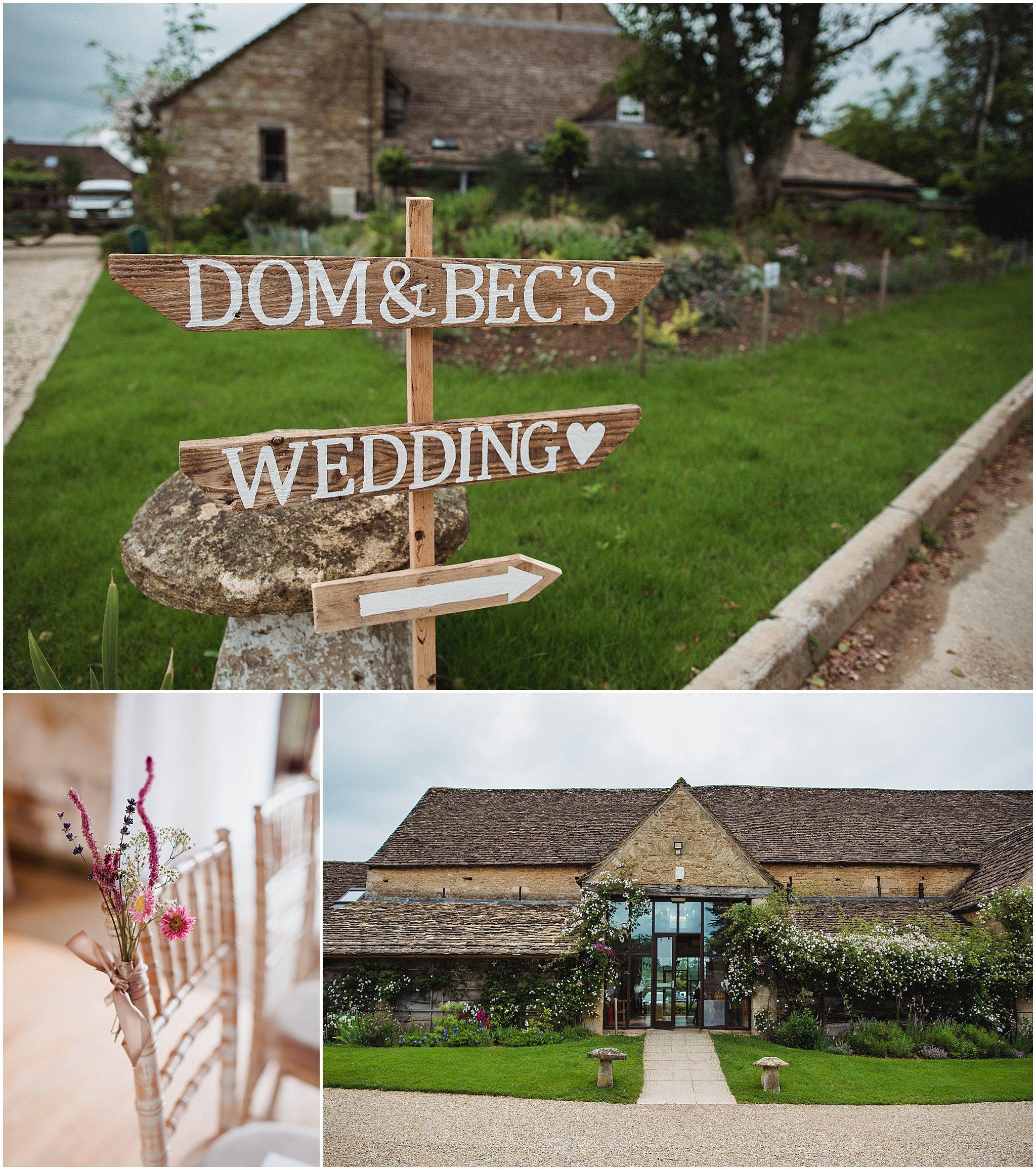 great the barn wedding tetbury