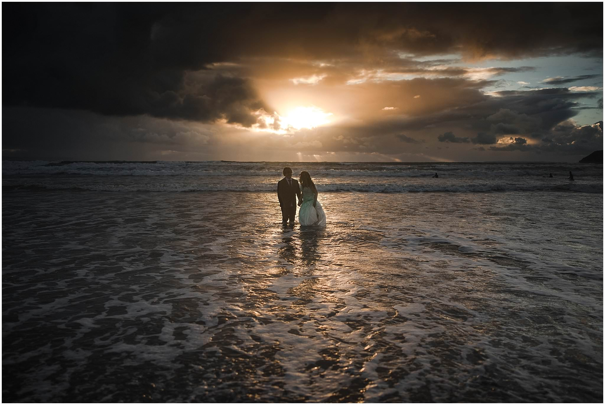 beach trash the dress session devon UK
