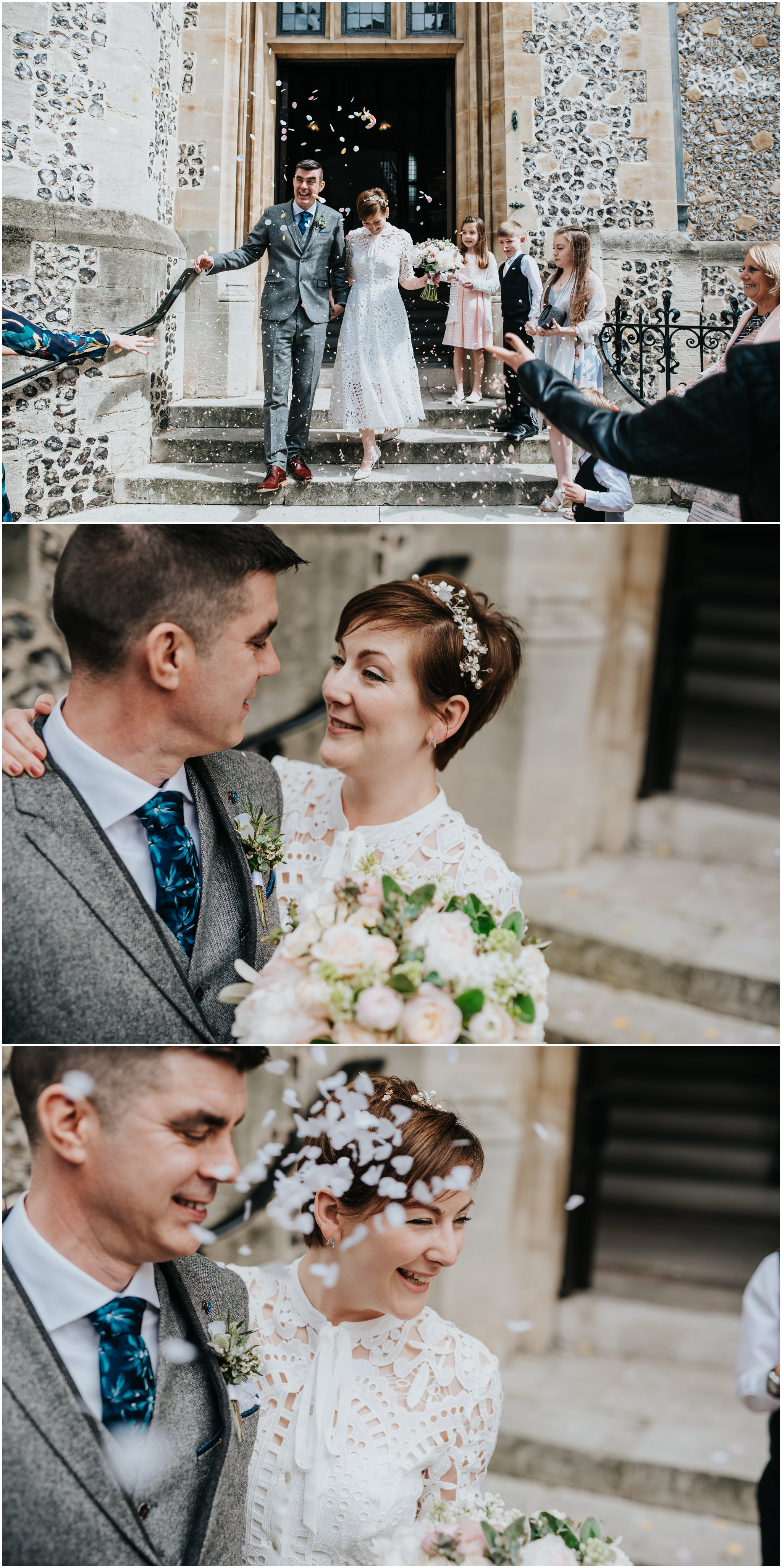 Kat & Marc\'s Winchester Basing room & Green Man pub wedding - Angela ...