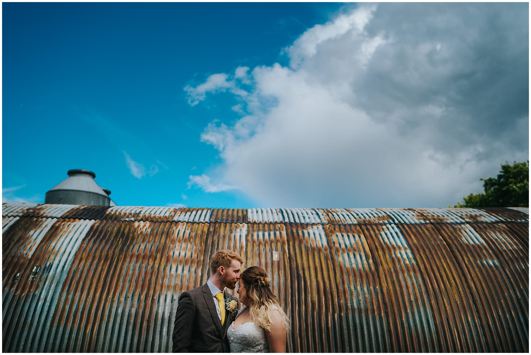 monks barn Hurley wedding