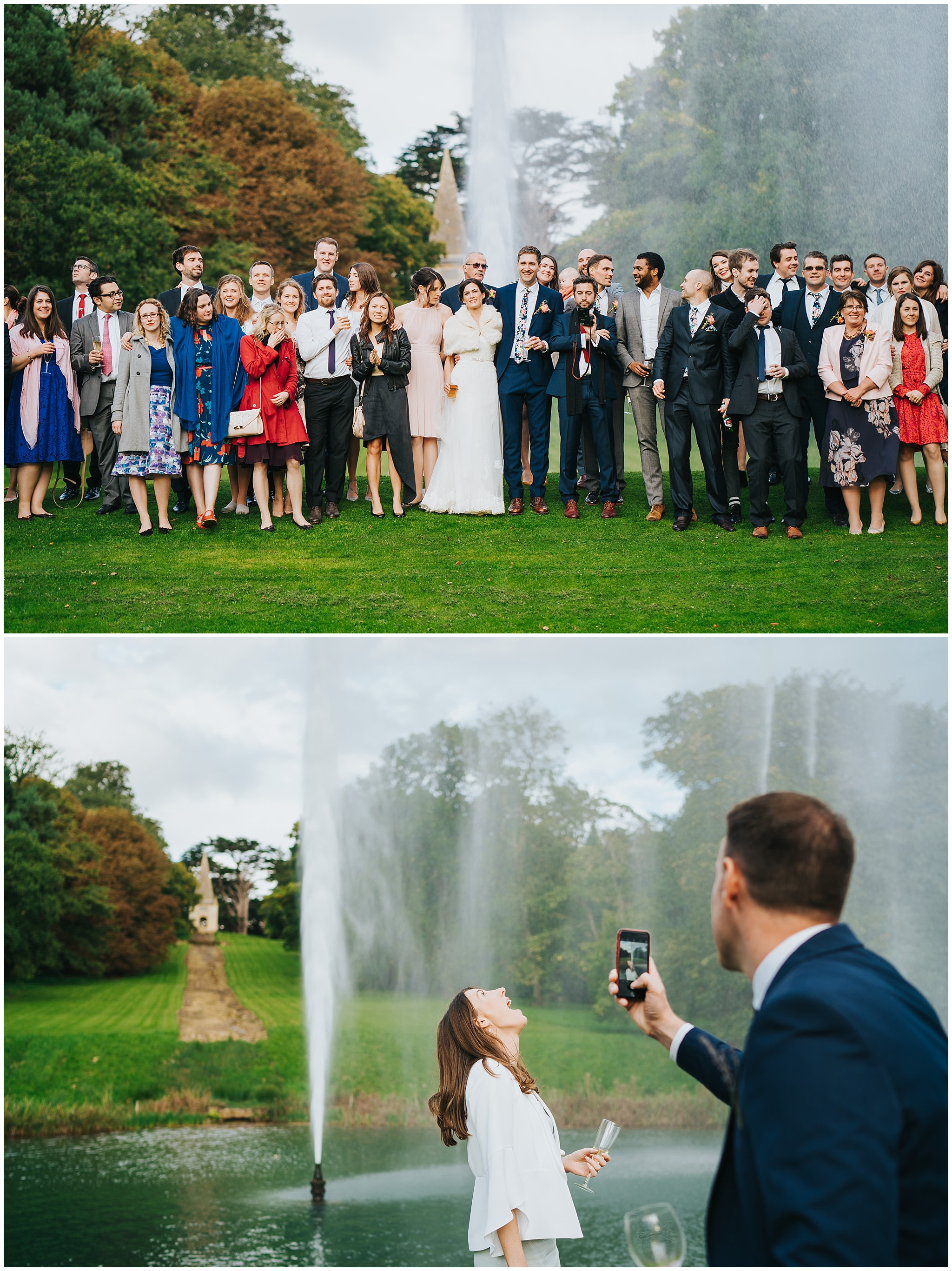 Stanway House Gloucester wedding photography085