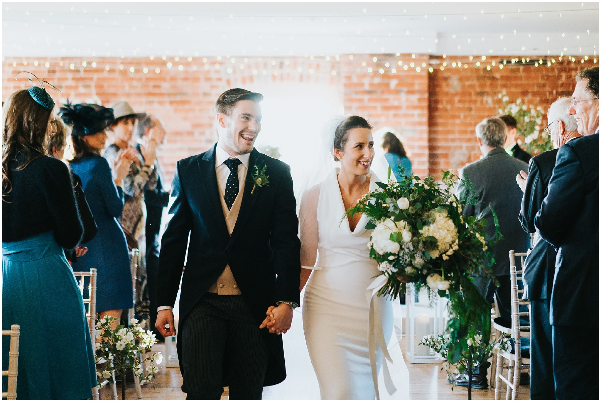 Sopley mill wedding in winter