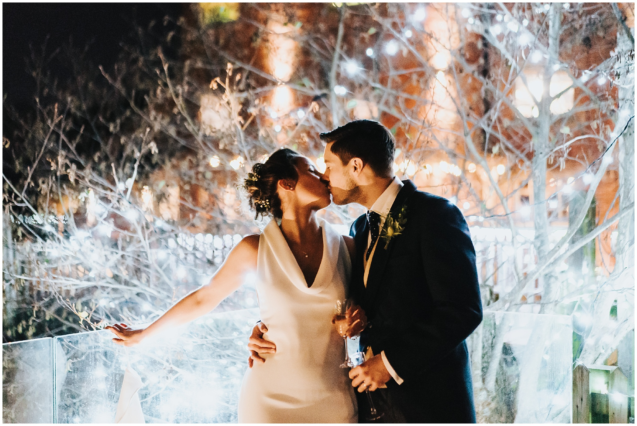 Sopley mill wedding winter