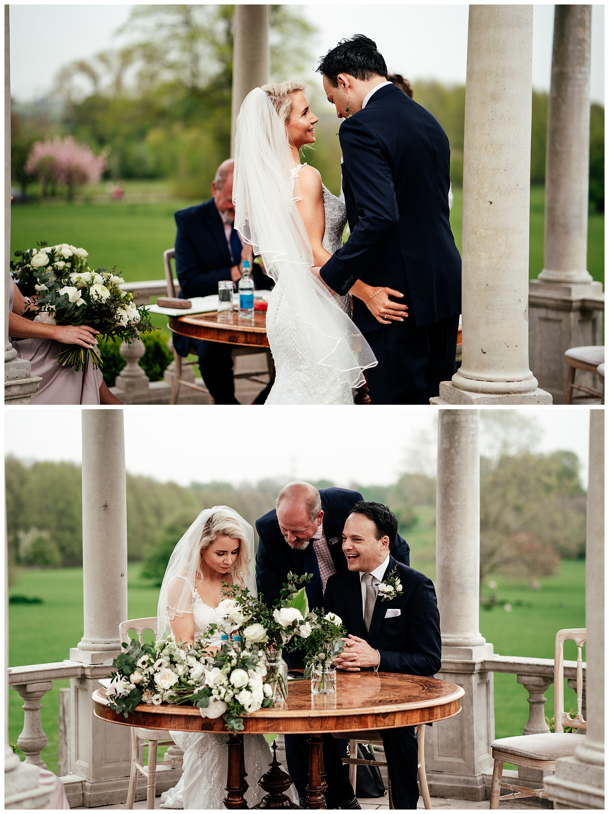 Froyle park wedding in spring