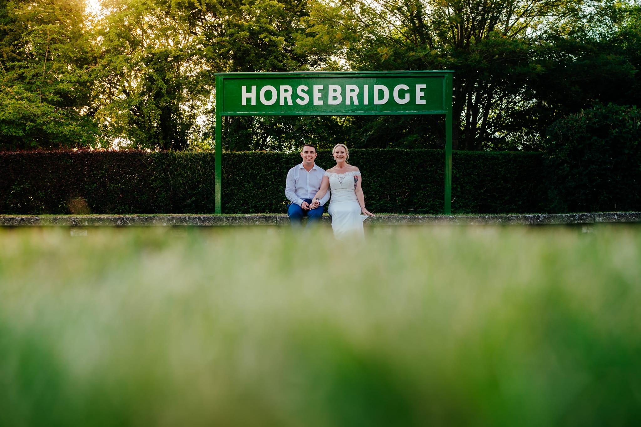 Horsebridge station wedding-156